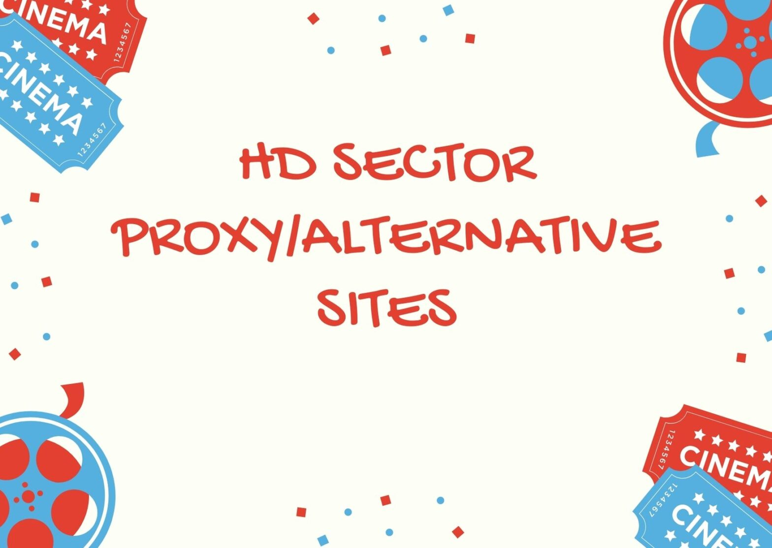 HDSECTOR PROXY MIRROR SITES 2021
